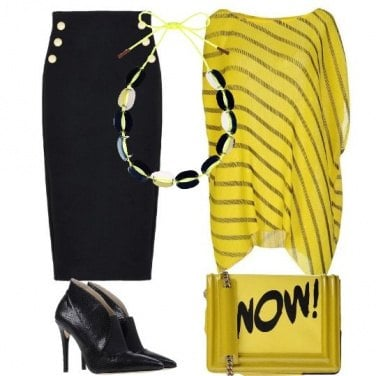Outfit Giallo che passione