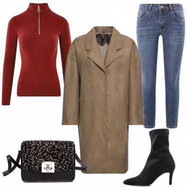Outfit Jeans e stivaletti