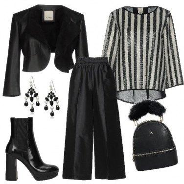 Outfit Lo zainetto fashion