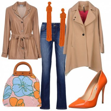 Outfit Arancio vivo