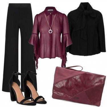 Outfit Sobria eleganza