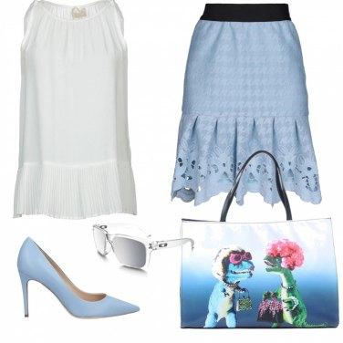 Outfit Voglia di primavera in ufficio