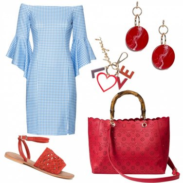 Outfit Abito vichy