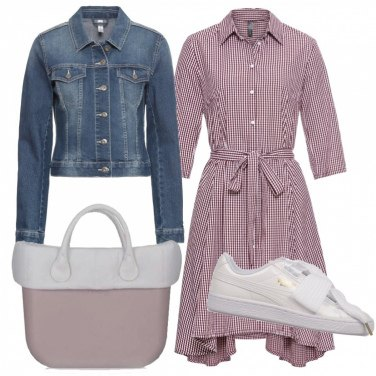 Outfit Pratico chemisier
