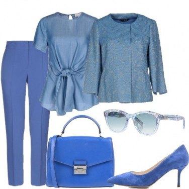 Outfit Blu China