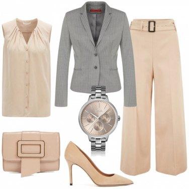 Outfit Giacca e pantaloni