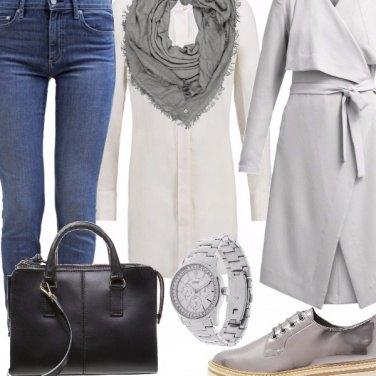 Outfit Cinquanta sfumature di grigio
