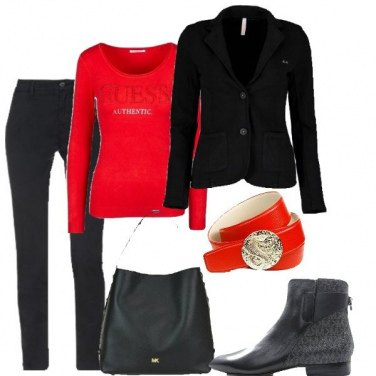 Outfit Rossonero