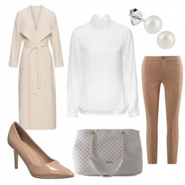 Outfit Camicia bianca low cost 3: bon ton