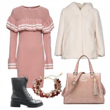 Outfit Toni cipria