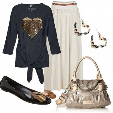Outfit Comoda con le ballerine