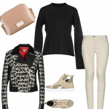Outfit #alfabeto moda#M=MAGLIA lana