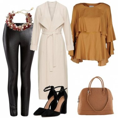 Outfit A tutta pelle