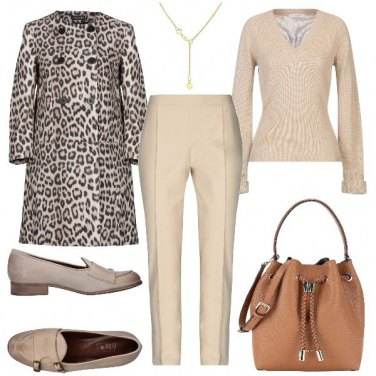 Outfit Animalier soft