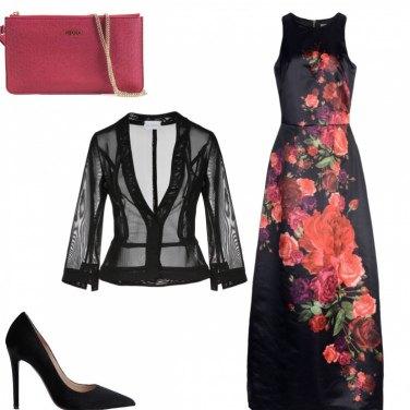 Outfit #alfabeto moda#V=VESTITO da sera