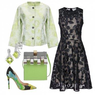 Outfit Focus sul verde