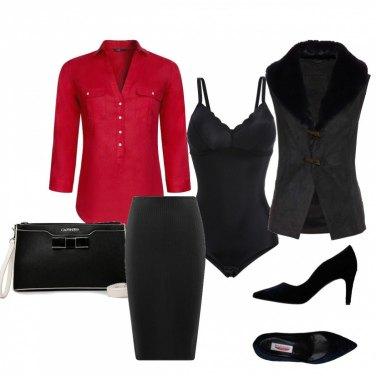 Outfit Una sirena in nero
