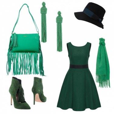 Outfit Frange verdi