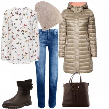 Outfit Farfalle anche in inverno
