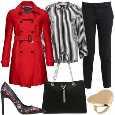 Outfit Metto il rosso