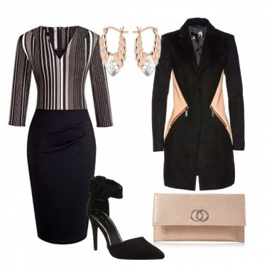 Outfit Cocktail chic