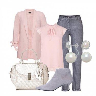 Outfit Bon ton pastello