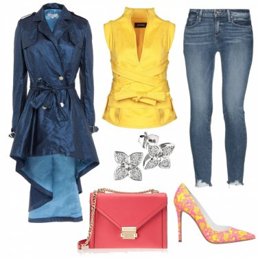 Outfit Yellow jeans
