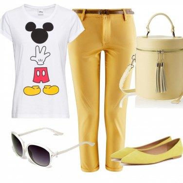 Outfit Voglia di primavera in giallo