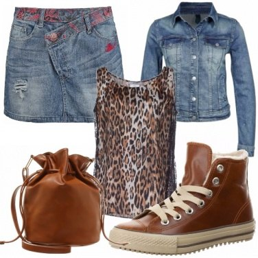 Outfit I love denim