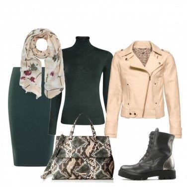 Outfit Borsa dettaglio glam