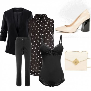 Outfit Rifiniture in color crema