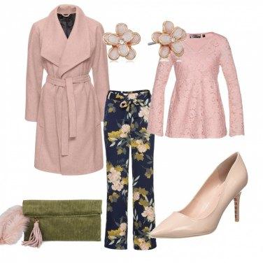 Outfit Fiori a primavera