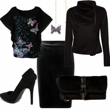 Outfit Velvet butterfly (low cost)