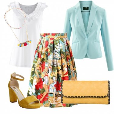 Outfit Trionfo di colori