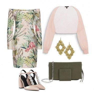 Outfit Fiori e foglie