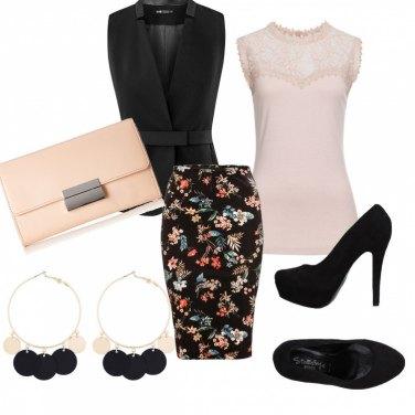 Outfit Gonna tropicale per cerimonia