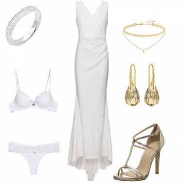 Outfit Sposa dorata