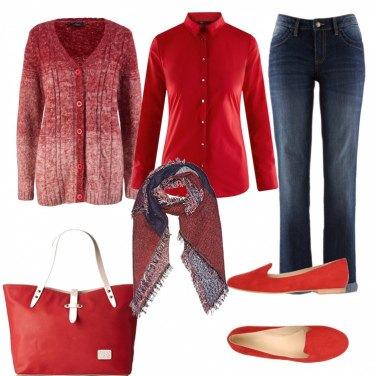 Outfit Per chi ama il rosso!