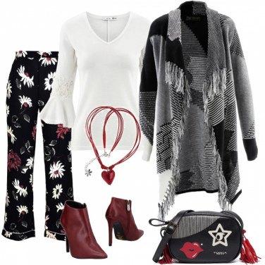 Outfit Fiori metropolitani