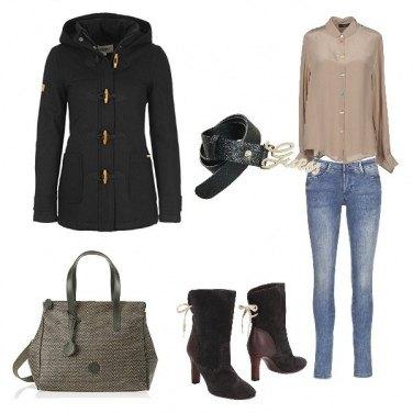 Outfit Basic, i bottoni colorati