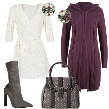 Outfit Il bianco in inverno