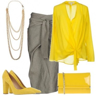 Outfit Una serata in giallo