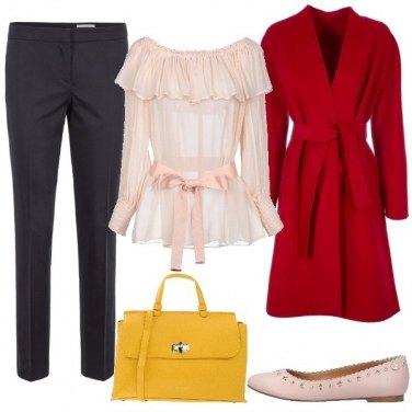 Outfit Buone maniere con colore