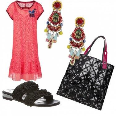 Outfit donna orecchini XL | Bantoa