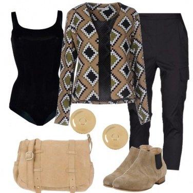 Outfit Una giacca fantasia