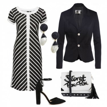Outfit Black and White #5