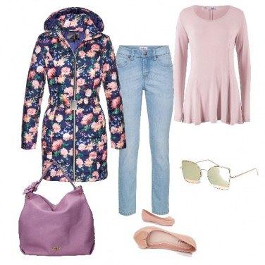 Outfit Col piumino leggero verso la primavera