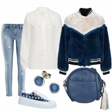 Outfit Bomber ecofur