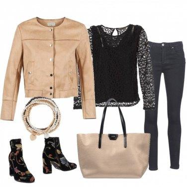Outfit La mia maxi bag