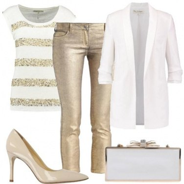 Outfit Un tocco d\'oro